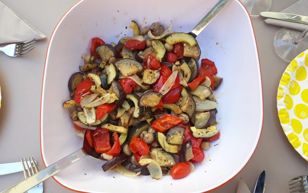 Warzywa z piekarnika (dla 2-3 osób)